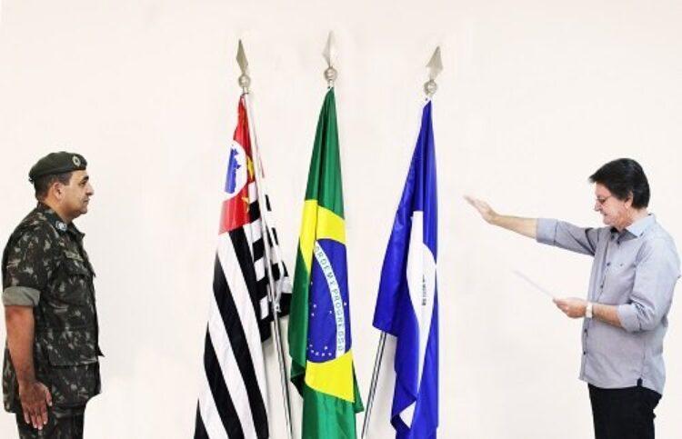 Prefeito José Pivatto toma posse como presidente da Junta de Serviço Militar de Cosmópolis