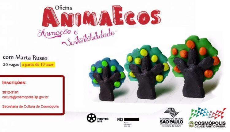Cosmópolis recebe oficina de Stop Motion neste sábado (27)