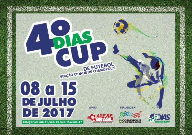 Cosmópolis recebe a quarta edição da Dias Cup