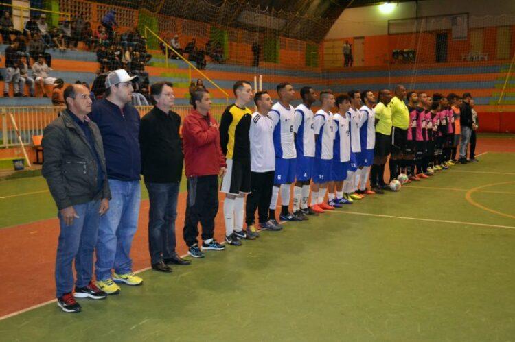 Prefeitura realiza abertura da XVI edição do Campeonato Municipal de Futsal