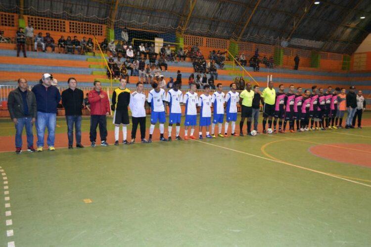 Finais do XVI Campeonato Municipal de Futsal começam nesta quarta-feira (2)