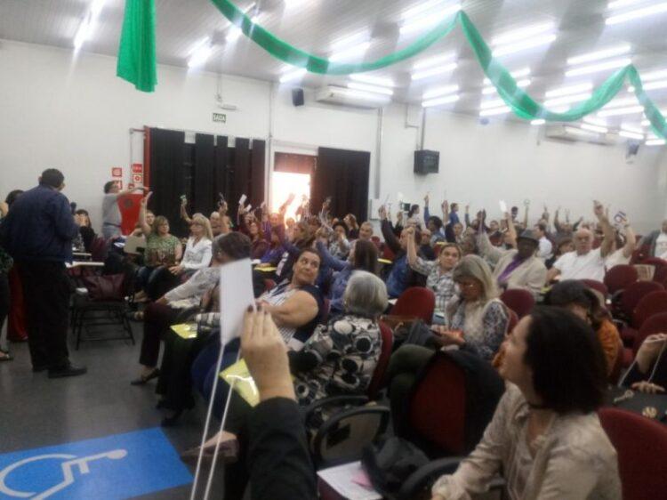Profissionais de Cosmópolis participam da etapa regional da 1ª Conferência em Saúde do Estado de São Paulo