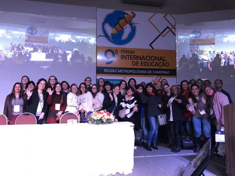 Equipe da Secretaria de Educação participa do 9º Fórum Internacional sobre o tema