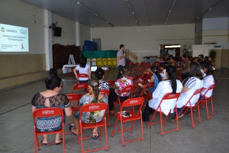 Encontro de educação e saúde é realizado no Jardim Andorinhas