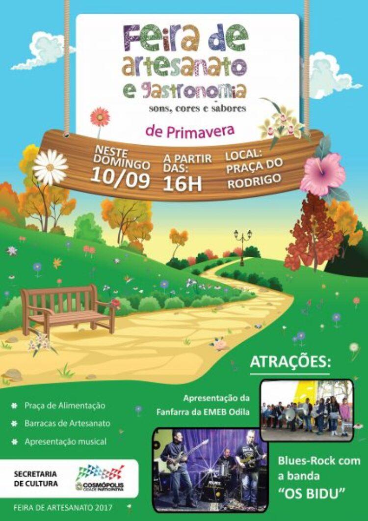 Feirinha de Artesanato ocorre no próximo domingo (10)