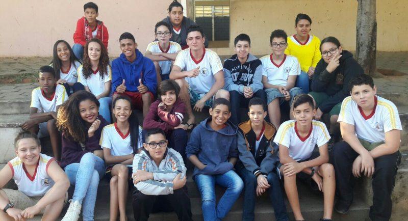 Alunos classificados da EMEB Estudante Ximena Coelho Pereira