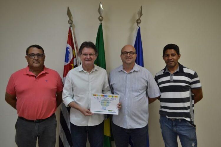 """Cosmópolis conquista pré-certificação no programa """"Município Verde Azul"""""""