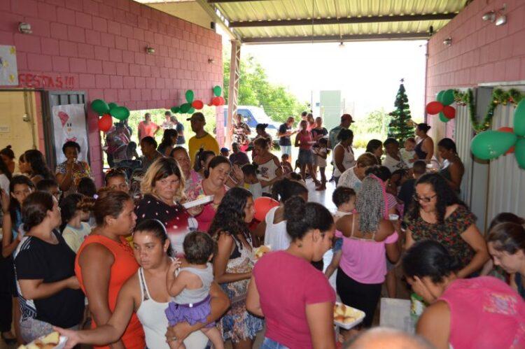 Promoção Social realiza festa de Natal para atendidos pelo Centro de Referência de Assistência Social