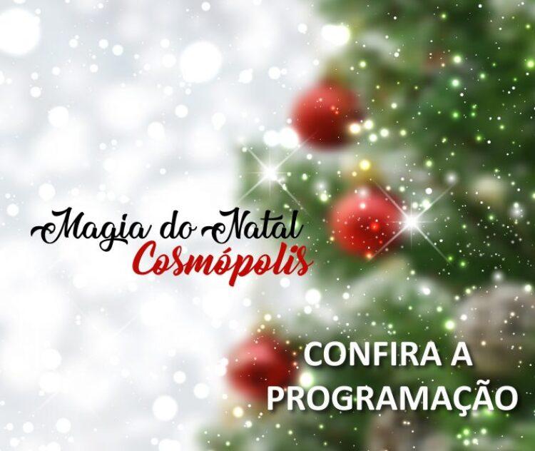 """""""Magia do Natal"""" começa nesta sexta-feira (8) na Praça do Coreto"""