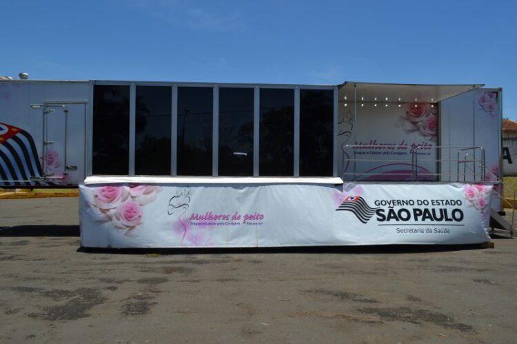 Carreta da Mamografia inicia os atendimentos a partir desta quinta-feira (4) em Cosmópolis