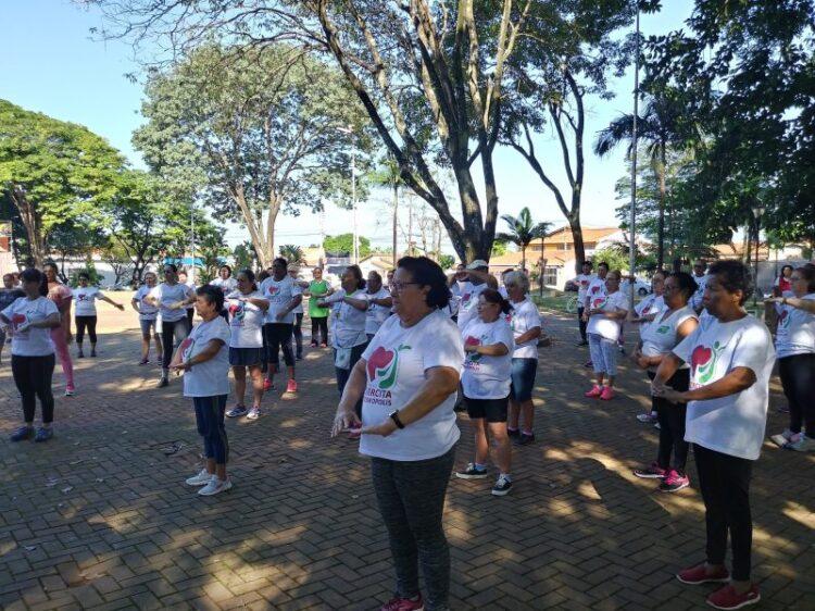 Prefeitura realiza atividades em comemoração ao Dia Mundial da Saúde e da Atividade Física