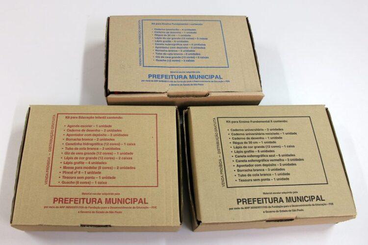 Prefeitura Municipal de Cosmópolis termina entrega de Kits Escolares para os estudantes da rede pública municipal de ensino