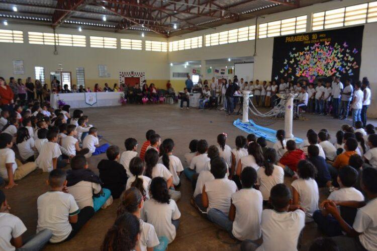 EMEB Cecília Meireles comemora 10 anos de inauguração com grande festa