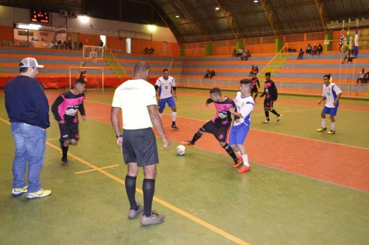 XVII edição do Campeonato Municipal de Futsal começa nesta segunda-feira (3)