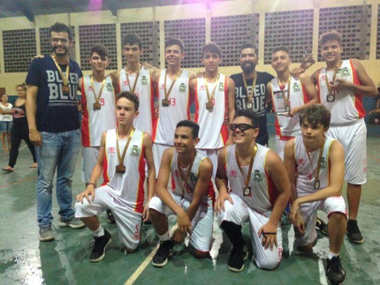 Equipe sub–14 da Prefeitura de Cosmópolis é campeã da Série Prata da Liga Metropolitana de Basquetebol
