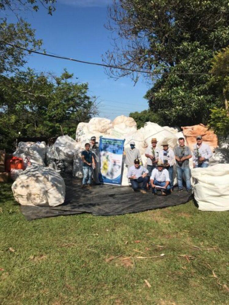 Secretaria de Agricultura e Meio Ambiente participa da Coleta de Embalagens de Defensivos Agrícolas
