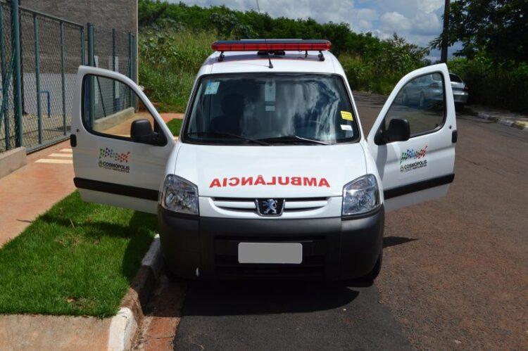 Prefeitura Municipal de Cosmópolis adquire nova ambulância