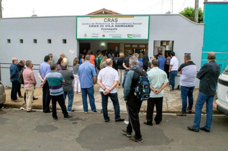 Prefeitura de Cosmópolis inaugura mais um CRAS na cidade