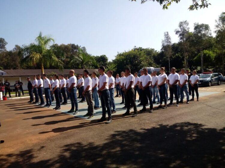 Curso de Formação de Guardas Municipais de Cosmópolis