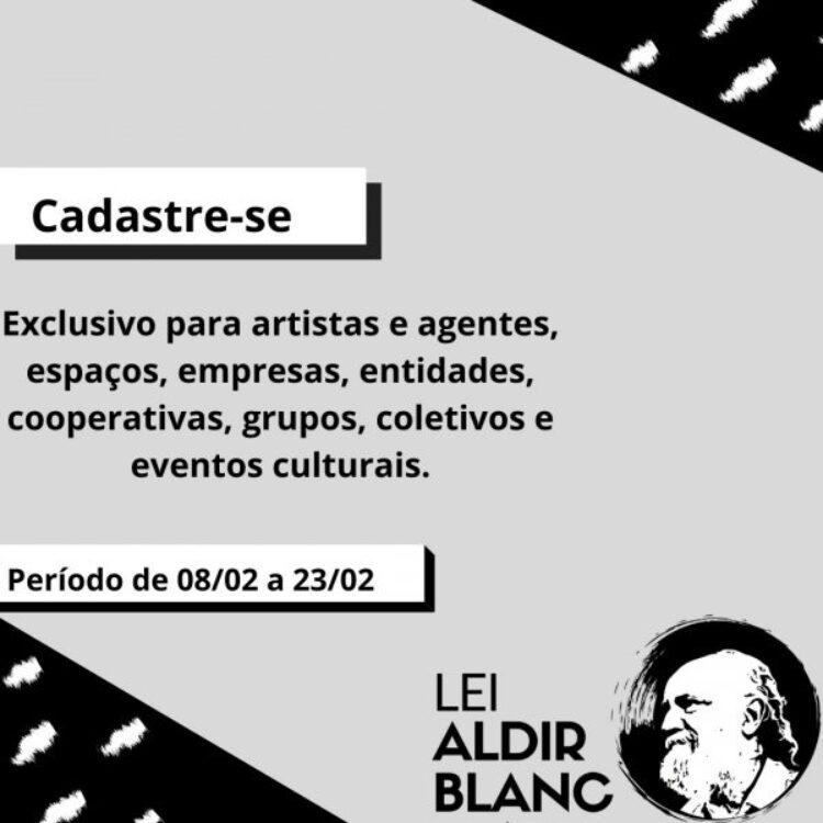Secretaria de Cultura lança cadastro para auxílio financeiro à artistas