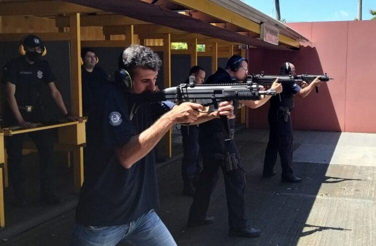 Polícia Municipal realiza curso de treinamento com armas
