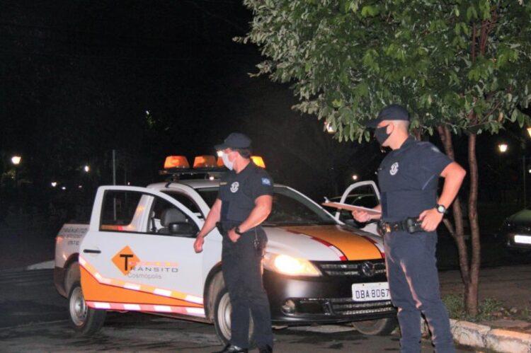 Guarda Municipal realiza fiscalização em Cosmópolis
