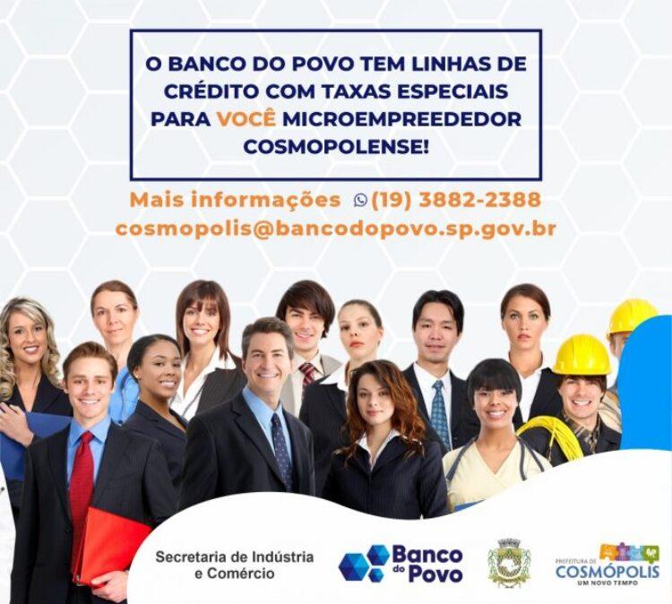 Banco do Povo divulga programa de microcrédito