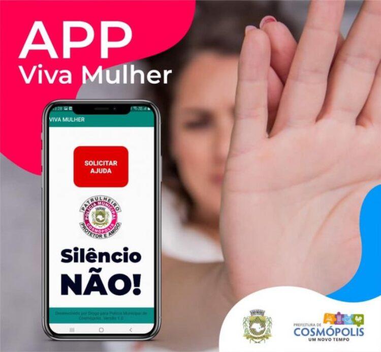 """Secretaria de Segurança Pública lança app """"Viva Mulher"""""""