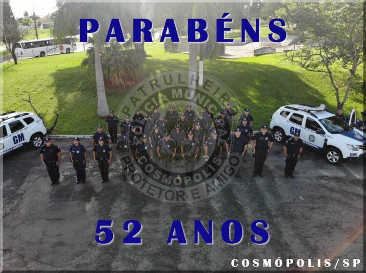 Polícia Municipal completa 52 anos