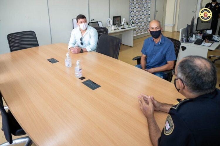 Policia Municipal visita Guarda Civil Metropolitana de São Paulo