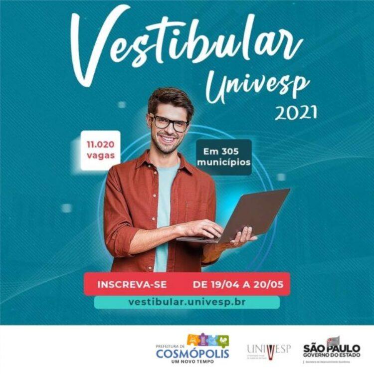 UNIVESP abre inscrições no dia 19 de abril