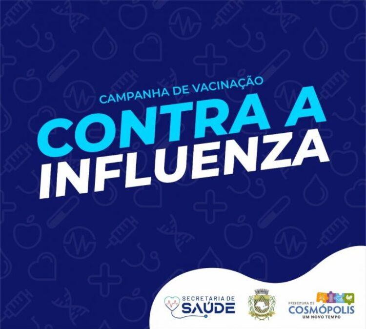 Nova etapa vacinação contra a gripe