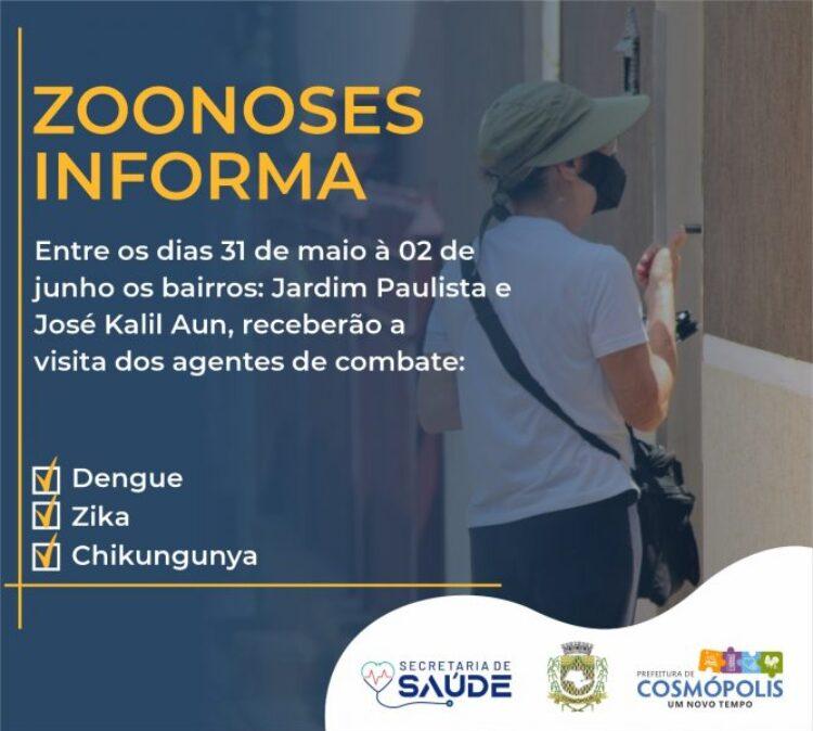 Agenda Zoonose Cosmópolis
