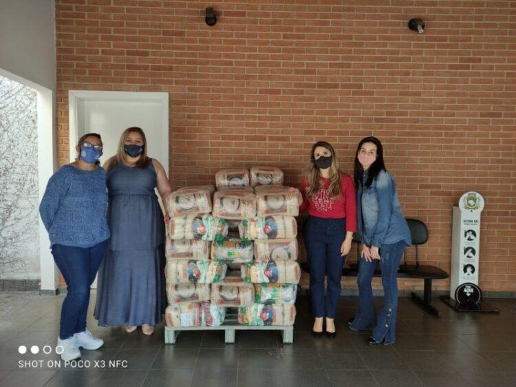 Secretaria de Promoção Social recebe mais doações de cestas básicas