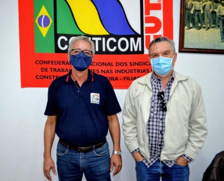 Secretário de Indústria e Comércio participa de reunião com SINTICOM