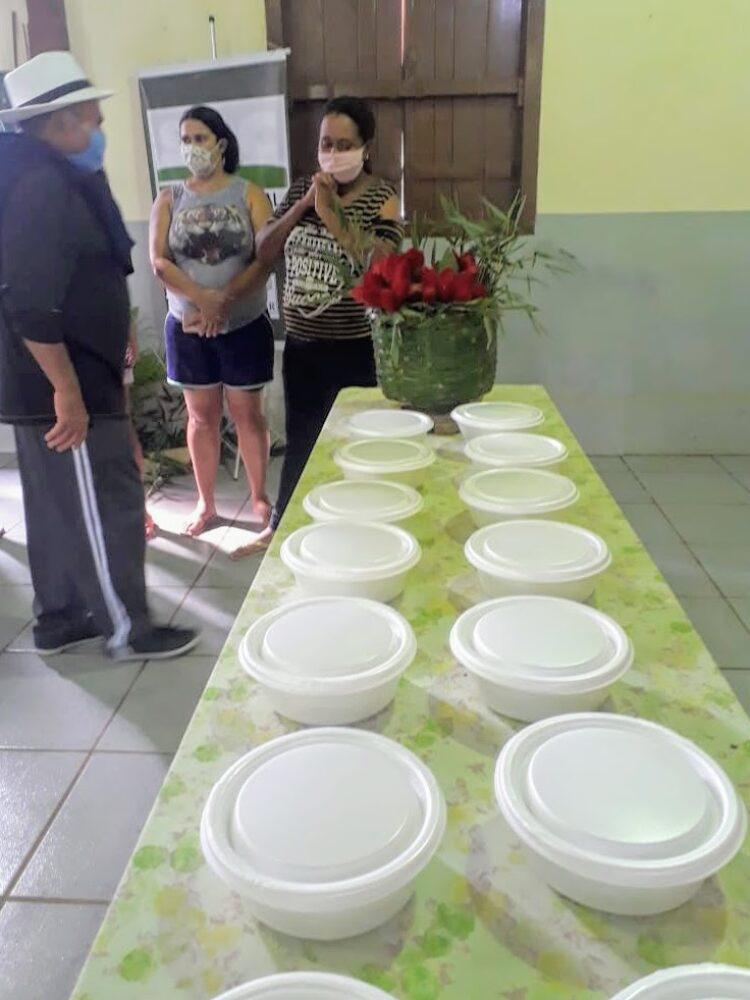 SAMA e Sindicato Rural de Campinas distribuem marmitas para famílias em situação de insegurança alimentar