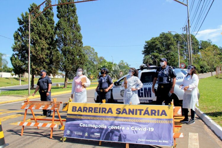 Barreiras Sanitárias abordam 1773 veículos durante 'feriadão'