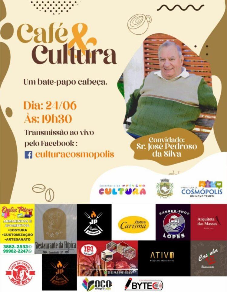 """Secretaria de Cultura lança primeira edição do """"Café & Cultura"""""""