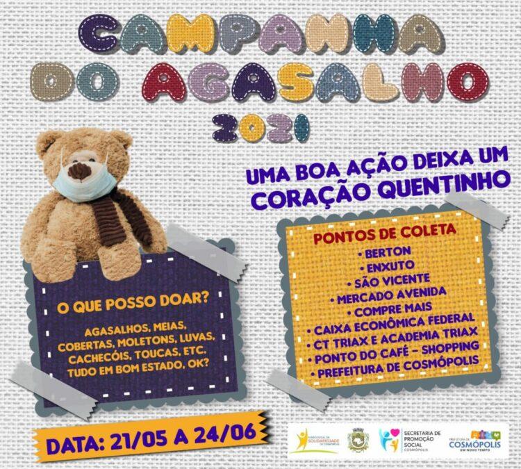 Fundo Social promove Campanha do Agasalho 2021