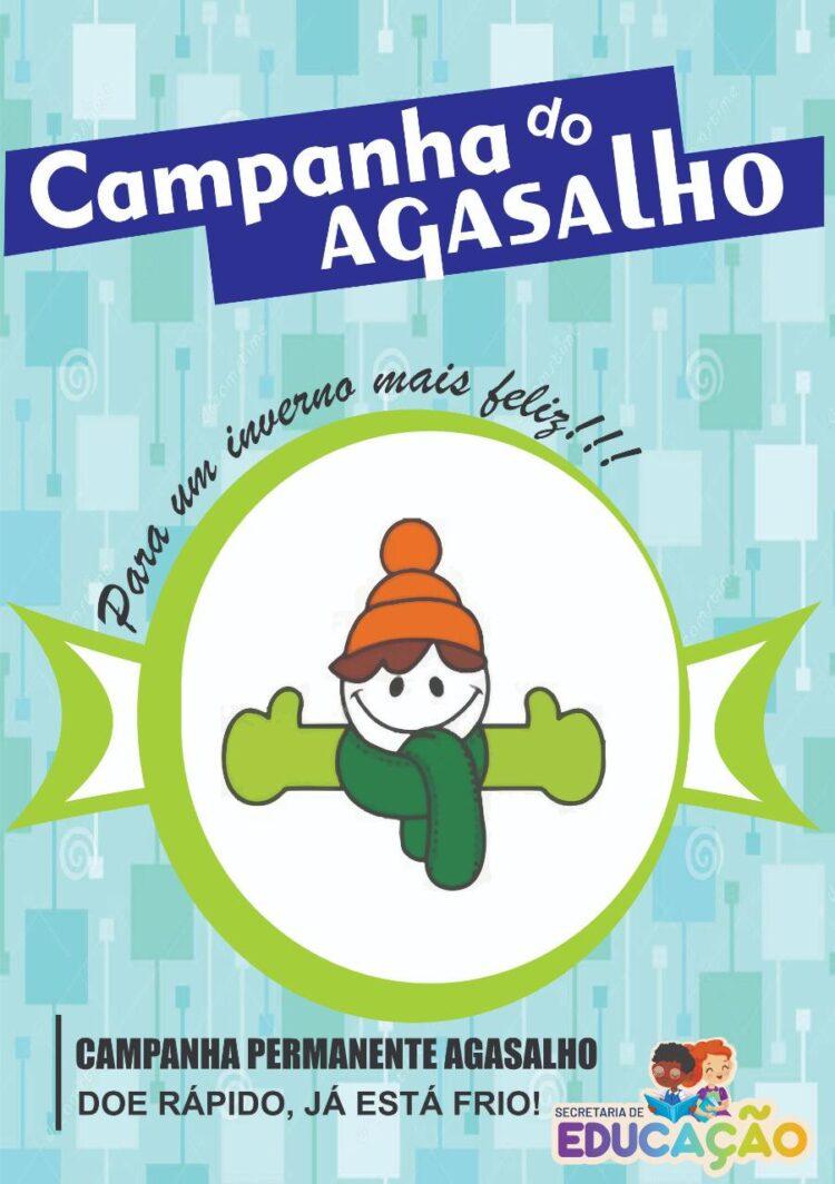 Secretaria de Educação manterá Campanha do Agasalho durante todo o inverno