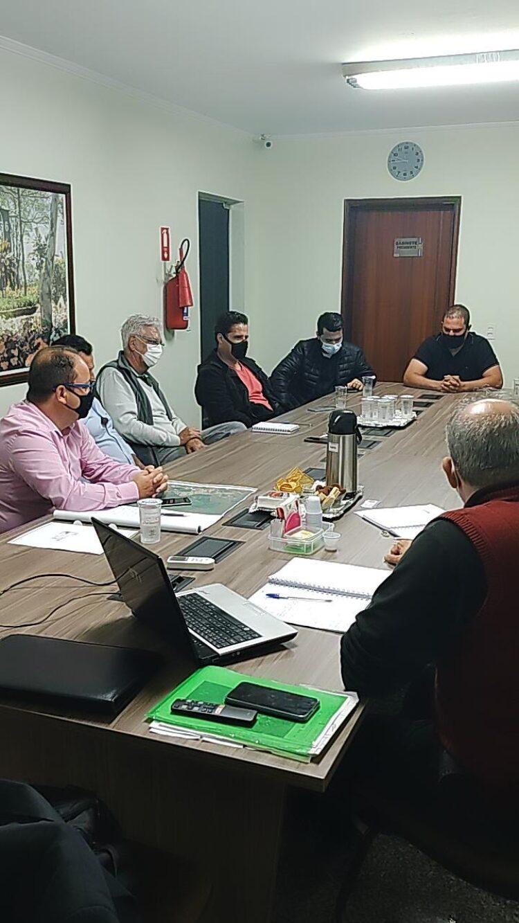 Secretarias realizam reunião referente a infraestrutura do Projeto Guatemozim