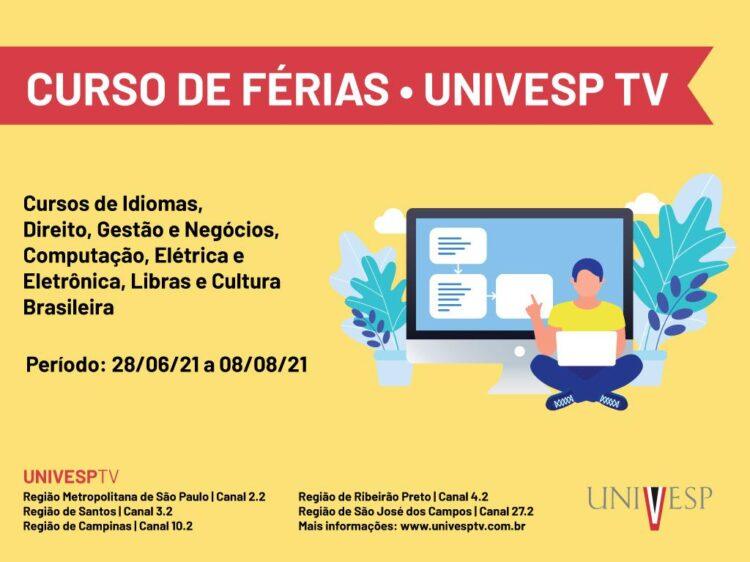 UNIVESP elabora Cursos de Férias gratuito para alunos e interessados
