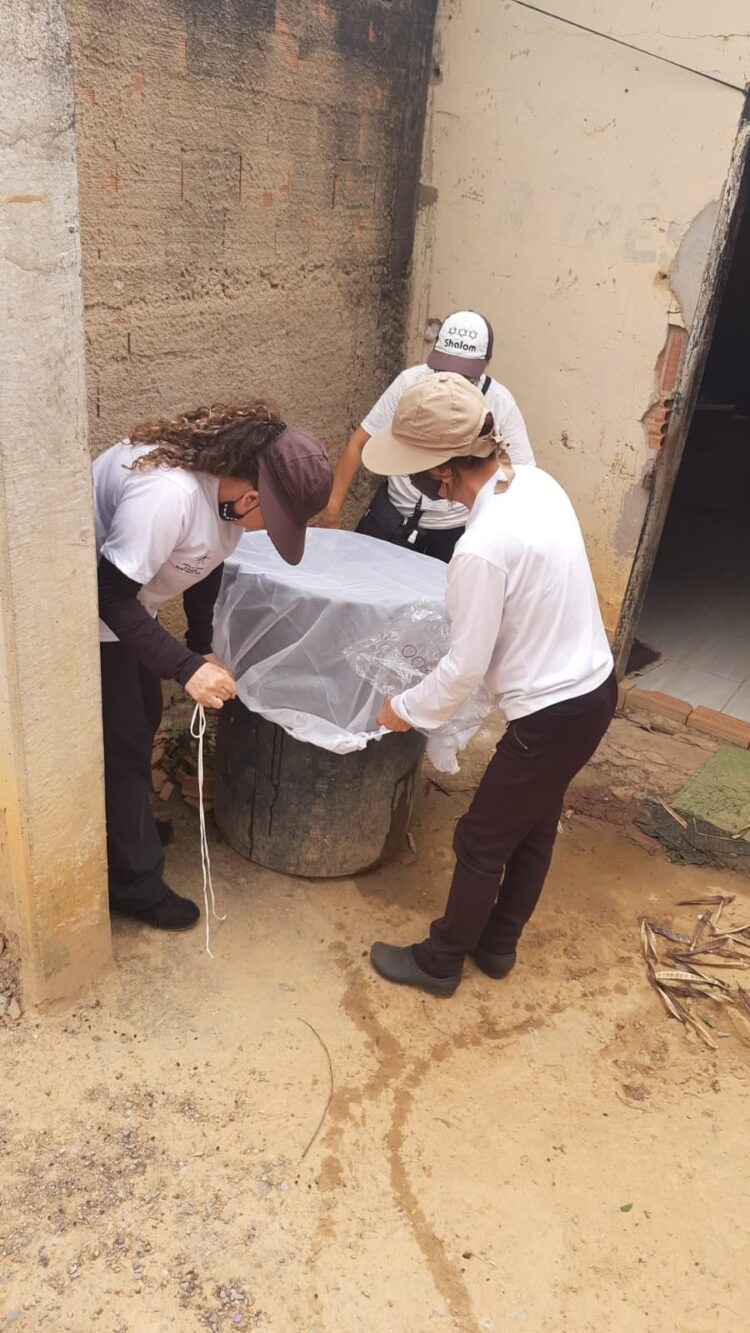 Ação contra mosquito Aedes Aegypti é realizada no bairro Uirapuru