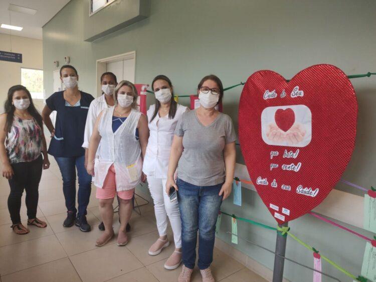 NUESA promove campanha para conscientizar sobre cuidar da 'saúde do coração'