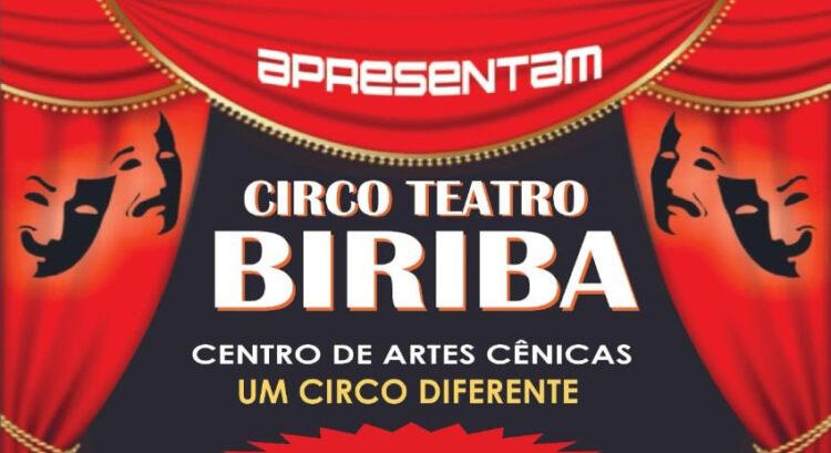 Circo Teatro Biriba realiza apresentações em comemoração ao dia das crianças